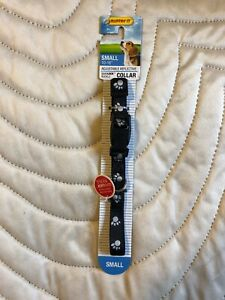 Paw-Prints-Reflective-Dog-Collar-No-39241-Westminster-Pet-Products