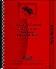 International Harvester Crawler Parts Manual Ih P T4t5td5