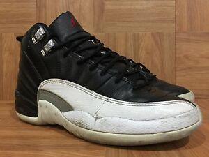 huge selection of 987e3 1b400 Image is loading VTG-Nike-Air-Jordan-XII-12-Retro-Playoff-
