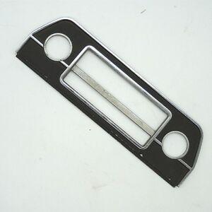 Seltene-Metall-Autoradioblende-Blende-gebraucht-aus-Lageraufloesung-60er-80er-3
