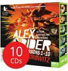 Anthony Horowitz Alex Rider Missions 1-10 Audio Book Collection on 10 Mp3 CDs