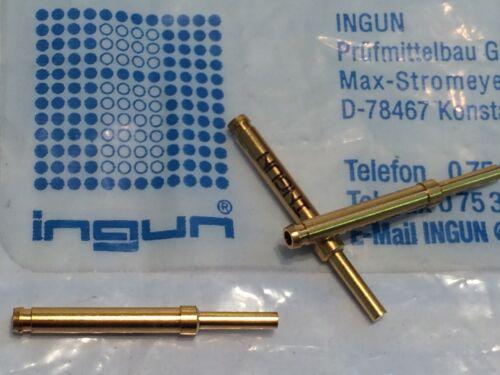 fbb22.2 X5 INGUN gks-113 molla caricata PIN test point Oro sonda