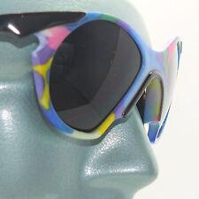 Crazy Whimsy Rainbow Multi Color Frame Sunglasses Sun Shades Colour Style Three