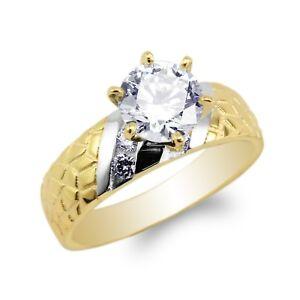 JamesJenny-Ladies-10K-14K-Yellow-Gold-Engagement-amp-Wedding-Band-Ring-Size5-10