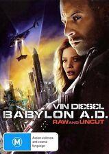 Babylon A.D. AD Raw Uncut : NEW DVD