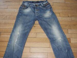 SALSA-Jeans-pour-Homme-W-28-L-34-Taille-Fr-38-Ref-G181