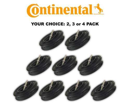 Continental Race 28 700x18-25c Bicycle Inner Tubes 42mm Presta Valve qty 2//3//4