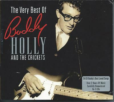 Buddy Holly & The Crickets - The Very Best Of...Greatest Hits (3CD) NEW/SEALED