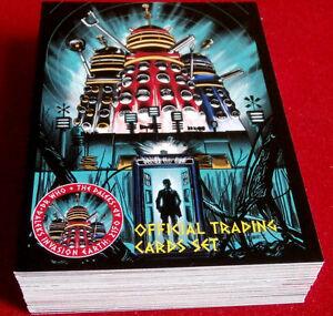 Overig DR WHO AND THE DALEKS Complete 54 Card Base Set Verzamelingen