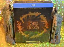 The Lord of the Rings Trilogy Steelbook Bluray Italain Edition Region B New