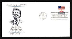 Carter-1977-Inauguration-Cover-Plains-GA-Cachet-amp-CDS-Z14563