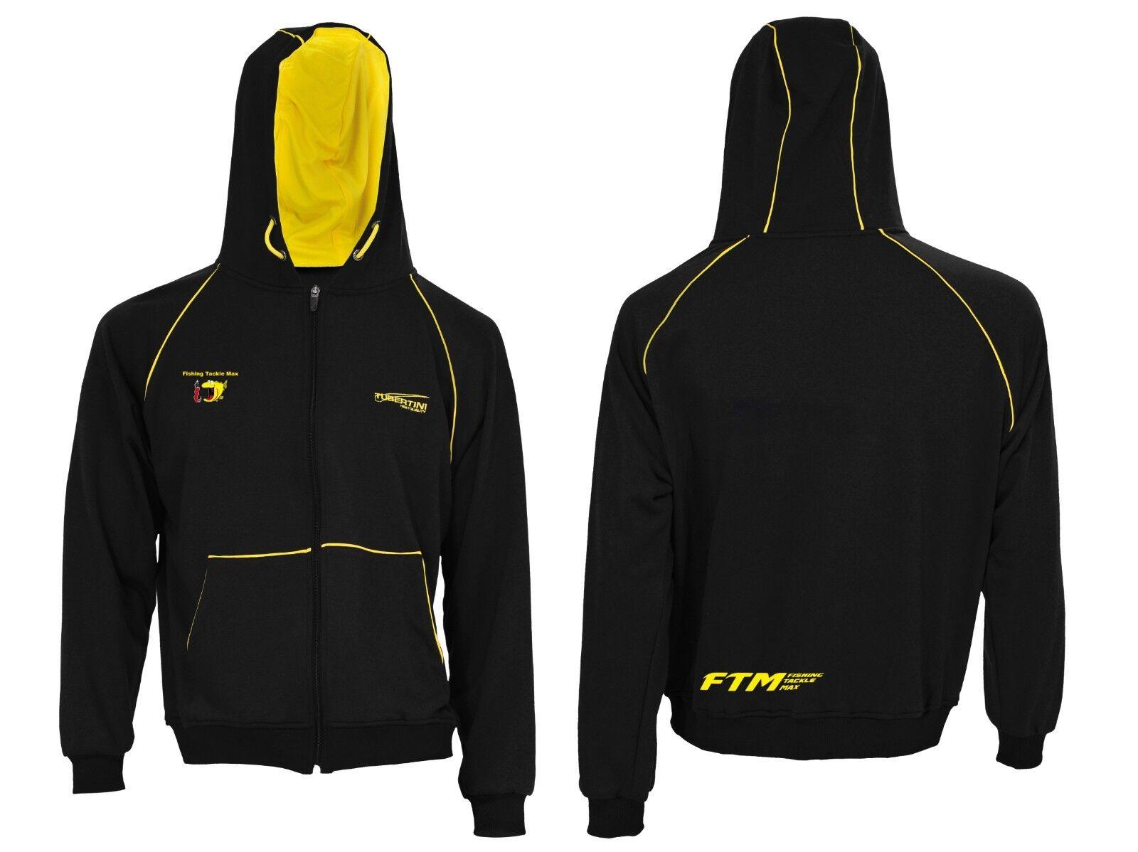 FTM Tubertini fishing  tackle Max chaqueta brand negro diferentes tamaños New     descuento