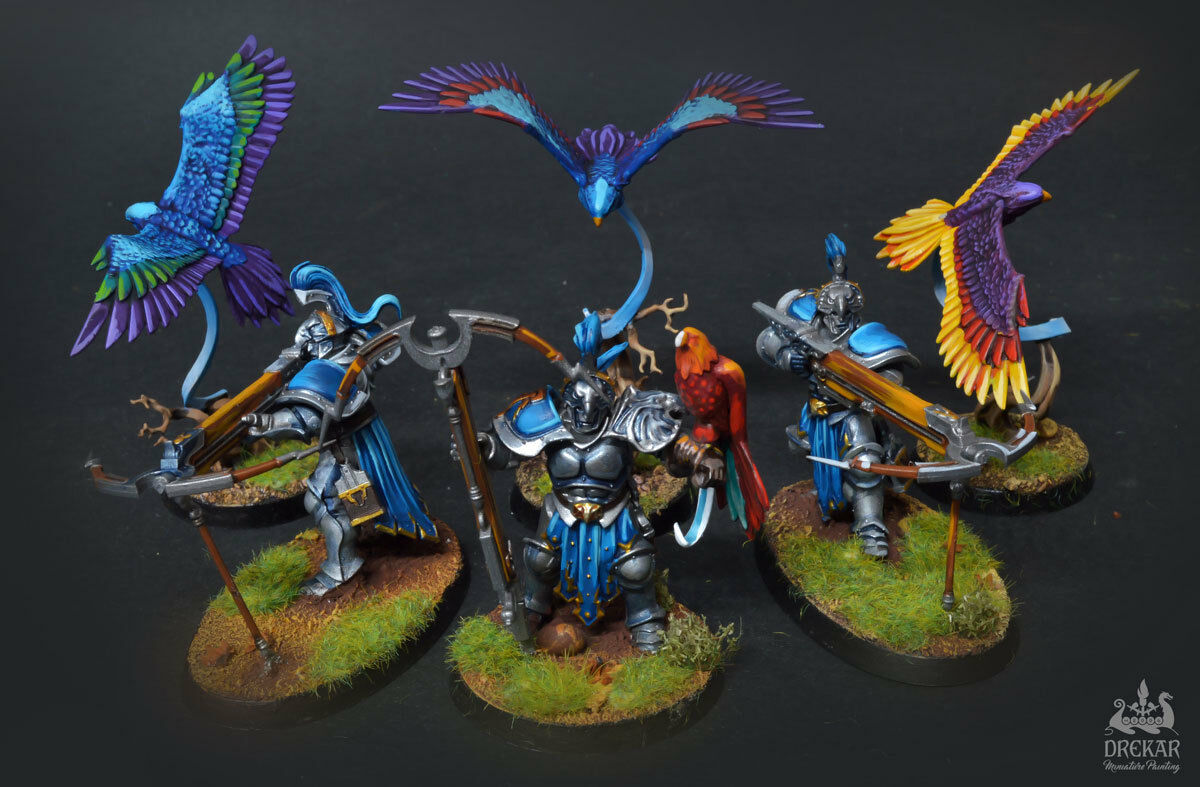 Stormcast Vanguard-Rapaces-Age of Sigmar  Commission  PRO peinture