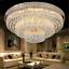 Modern K9 Crystal Chandelier Flush Mount Ceiling Lighting Fixture Pendant Lamp