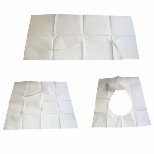 10//20//50Pcs Disposable Paper Toilet Seat Cover/' For Camping Travel Sanitary hi