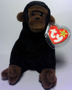a32abb1d8bf CONGO™ THE GORILLA Ty™ 5TH GEN BEANIE BABY 1996 RETIRED MINT TAGS ...