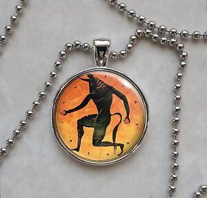Details about Ancient Greek Tondo Choose Image Pendant Necklace