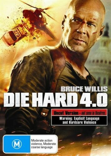 1 of 1 - Die Hard 4.0-DVD VERY GOOD CONDITION FREE POSTAGE ALL OVER AUSTRALIA REGION 4