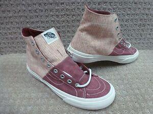 Vans Spt Decon Port Sk8 Zapatos rayas Lavado Tawny Hombre hi gZrqzTg