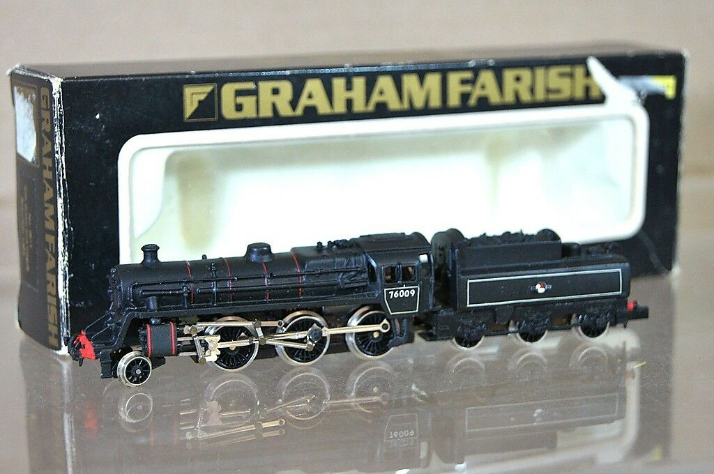 GRAHAM FARISH 0611 KIT BUILT BR 260 STeARD classe 5MT LOCO 76009 MIB mz