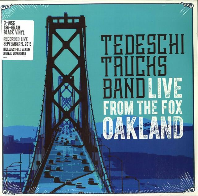 TEDESCHI TRUCKS BAND LIVE FROM THE FOX OAKLAND TROIS VINYLE LP 180 GRAMMES NEUF