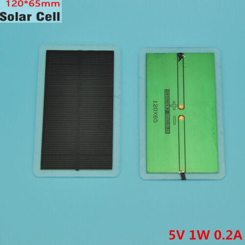 2Pcs 1W 5V Solar Module Monocrystalline Solar Panel DIY Charger For 3.7V Battery