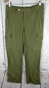 a03d41fd8f Image is loading Columbia-Titanium-Convertible-Pants-Womens-Size-8-Green-