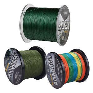 8-Strands-Green-Multicolor-300M-Superb-Power-Dyneema-PE-Braided-Fishing-Line
