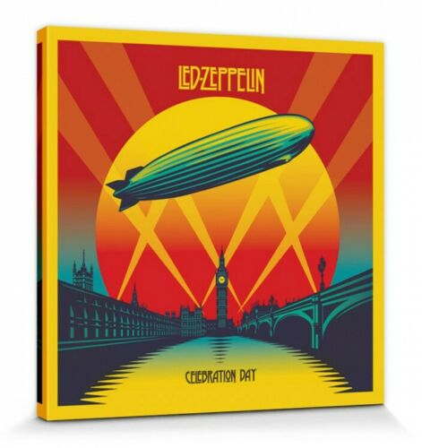 40x40cm Celebration Day Poster Leinwand-Druck Bild #120100 Led Zeppelin