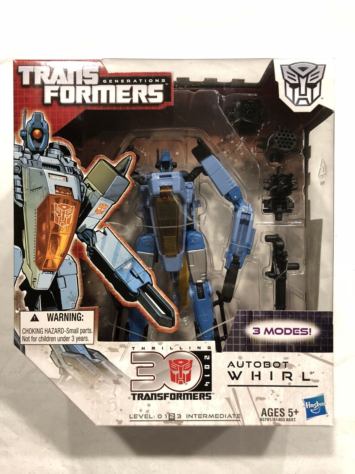 Transformers G1 classics Generations 30th Voyager Class Whirl Hasbro MISB
