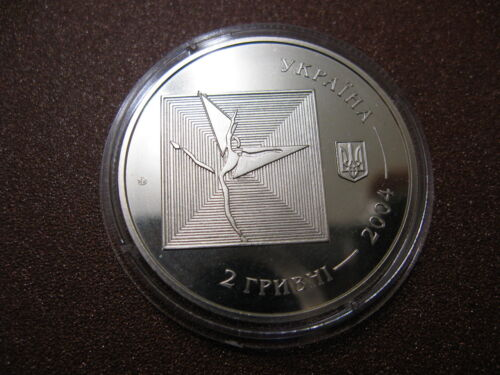 Serzh Lyfar Serge Lifar  Ballet dancer choreographer Ukraine coin 2 UAH 2004