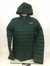 NFL Team Apparel  New York Jets Puffer Pack Away Youth Jacket Size XL