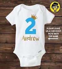 Item 4 Two Year Old Custom Birthday Shirt Boy 2nd Second