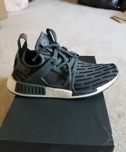 quality design 5a45b f33cb Details about 9.5 New Women's Adidas NMD XR1 Primeknit shoes olive green  run training casual