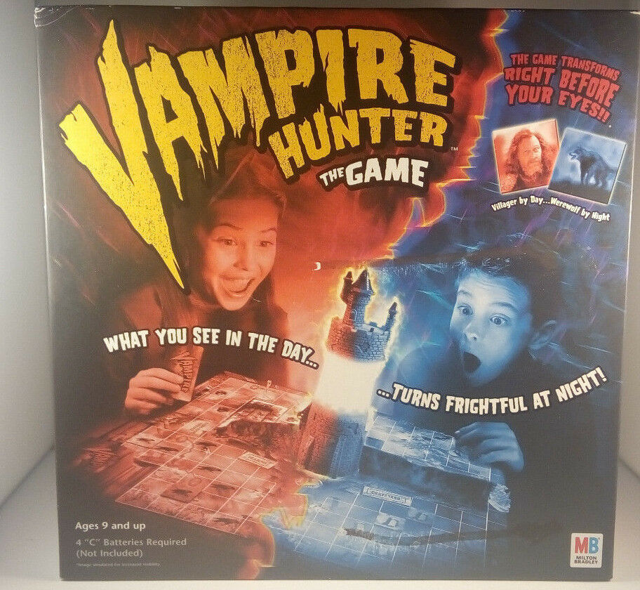 VAMPIRE HUNTER--The Game--New Unused--Great game