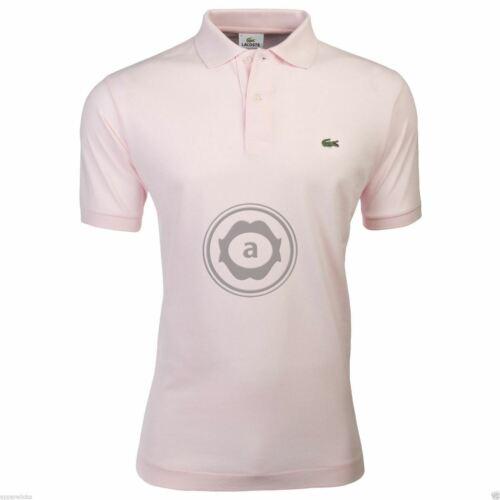 Lacoste Men/'s Polo Shirt L1212 Croc Logo Classic Fit All Colours Size 3 4 5 6 7