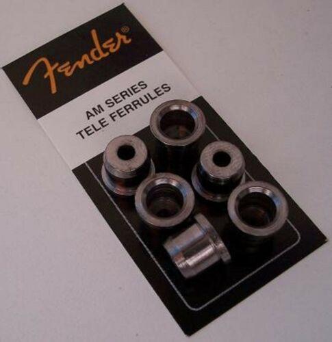 Genuine FENDER AM Series TELE STRING FERRULES Set of 6 Made in USA American