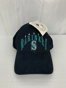 Seattle-Mariners-MLB-Adjustable-Baseball-Hat-Cap-Navy-With-Tags