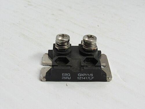 Details about  /EBG POWER RESISTOR GXP//1//S 25RJ 121417LF USED