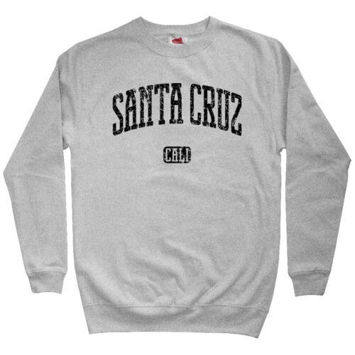 Gift Cycling Skater UC Santa Cruz California Men/'s Sweatshirt Crewneck S-3X