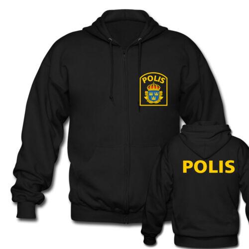 Netherlands Politi Austria Finland Sweden Yugoslavia Special Force Zipper Hoodie