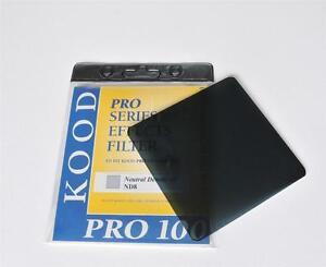 Kood-Pro-100-Serie-nd-8-densidad-neutra-filtro-ajusta-Cokin-Z-sistema-Nd8-Ndx8