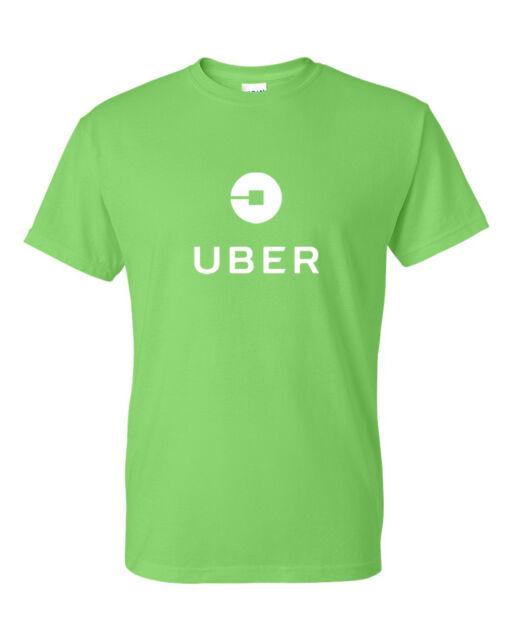 Fashion Personality Custom T-shirts Series Uber logo Unisex T-shirt