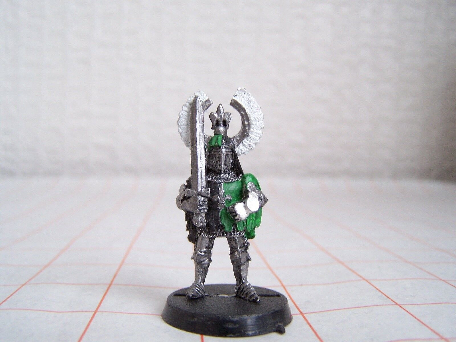 Warhammer Bretonnian Questing Knight Hero on Foot (OOP)