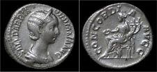 Orbiana AR denarius Concordia seated left
