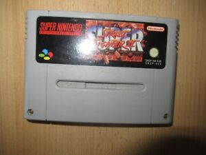 Nintendo-Juego-de-SNES-SUPER-STREET-FIGHTER-II-2-CARTUCHO-PAL