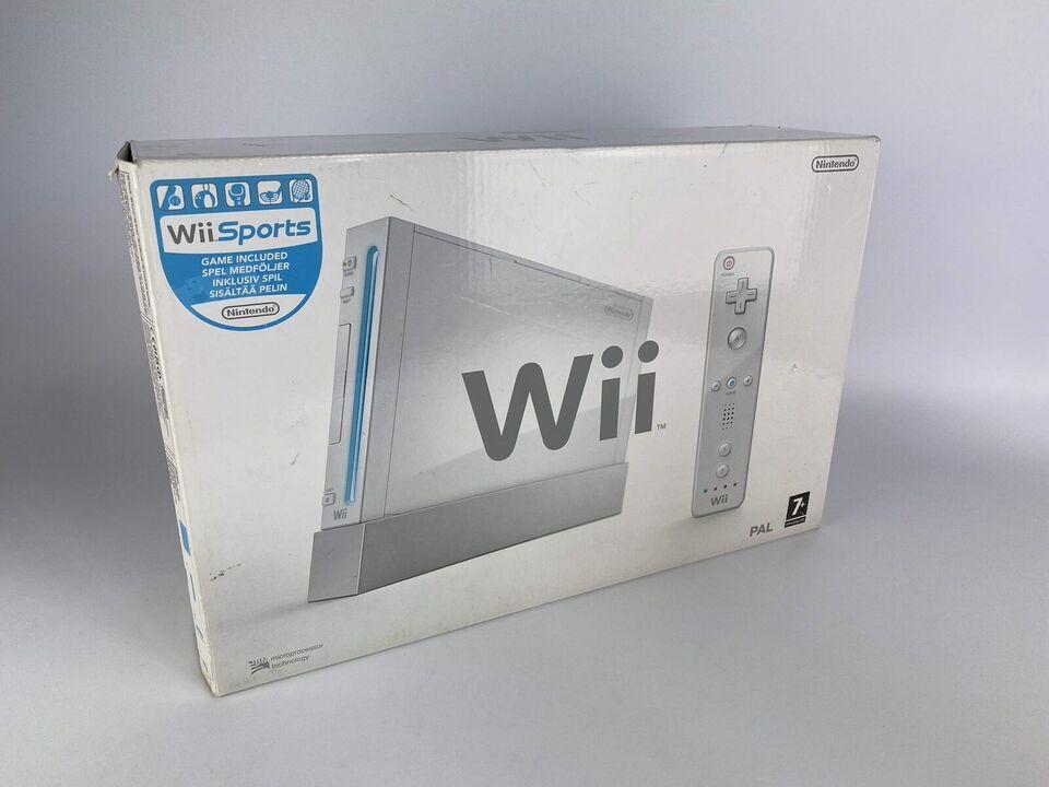 Nintendo Wii, Wii i original æske