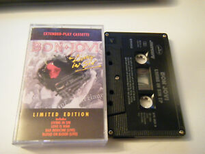 Living-in-Sin-by-Bon-Jovi-Cassette-1989-Polygram-Records