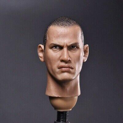 1//6 American Rangers Johnson Head Carving Men/'s Head Sculpt Fit 12/'/' Male Figure