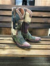 4798b010de5 Dan Post Womens Western BOOTS Cowboy Dreams Longhorn Tan Dp3587 9 B ...